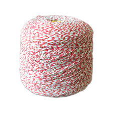Шпагат для колбас хб бело-красный Бухта 2,4 кг