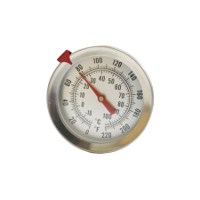 Термометр механический с щупом 25 см с держателем
